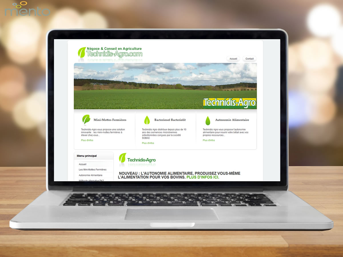 Technidis Agro<br>Site Internet